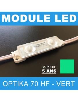 Led Optika 70 HF vert pour enseigne lumineuse à leds
