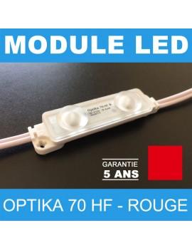 Led Optika 70 HF rouge pour enseigne lumineuse à leds