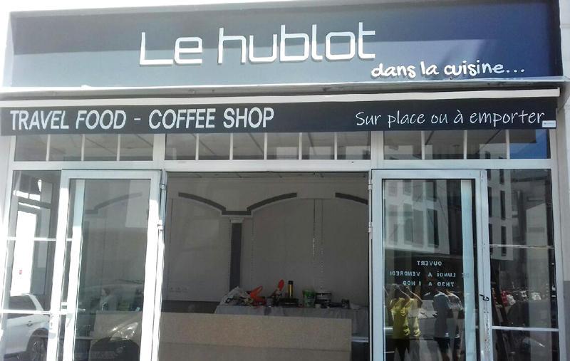 Enseigne en kit pour coffee shop