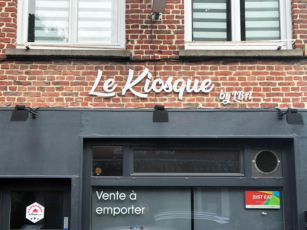 Enseigne Lumineuse à Leds Pizzeria Lille